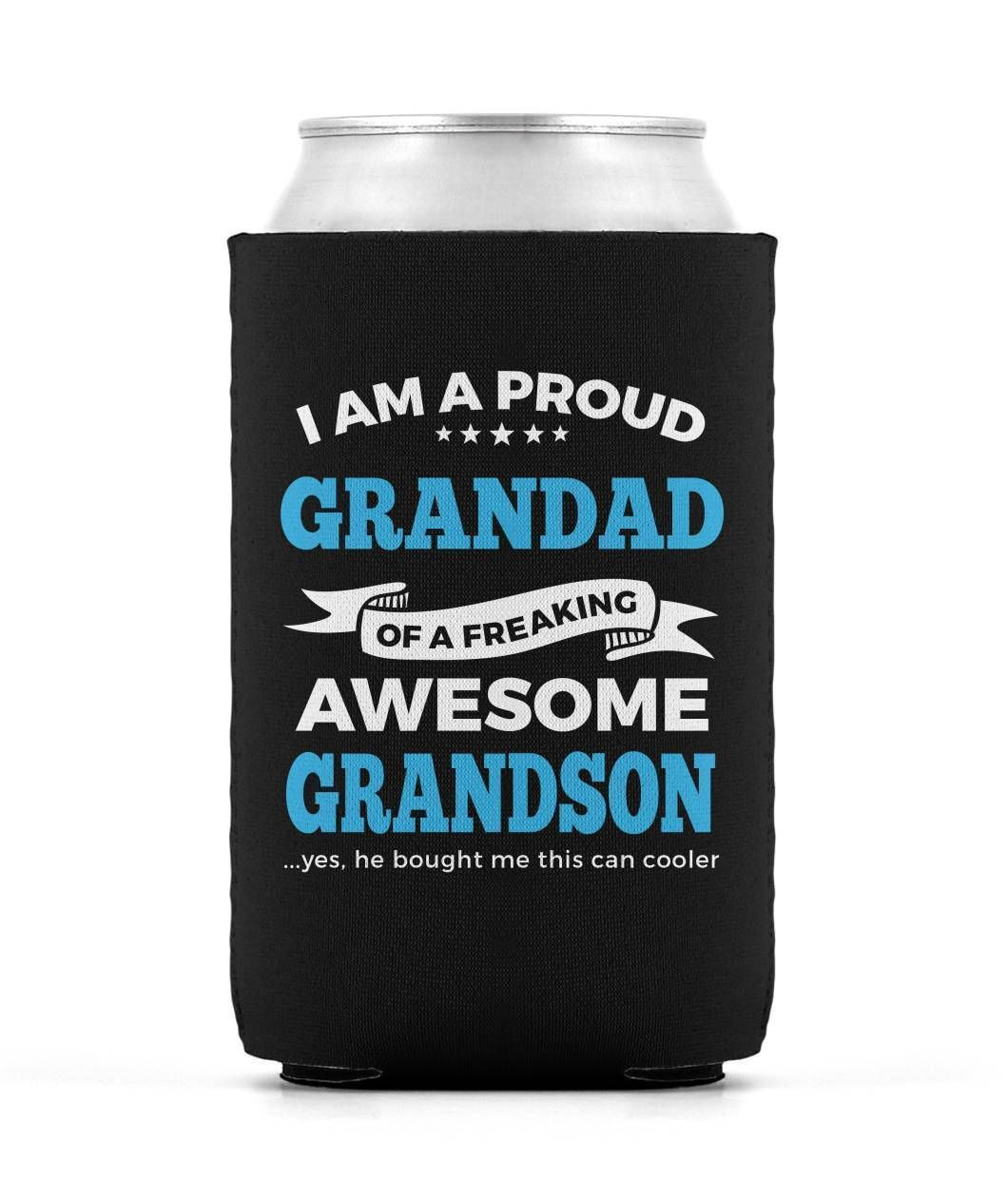 Proud Grandad of An Awesome Grandson - Can Cooler
