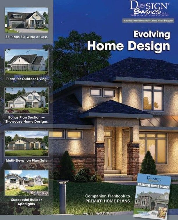 Looking To Build Your Dream Home Order The New Design Basics Home Plan Book Evolving Ho Home Design Floor Plans Contemporary House Design House Plans Online