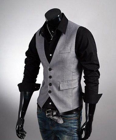 2db6592e8a3 NEW! Men's Trendy Suit Vest | Christmas ideas | Mens suit vest ...