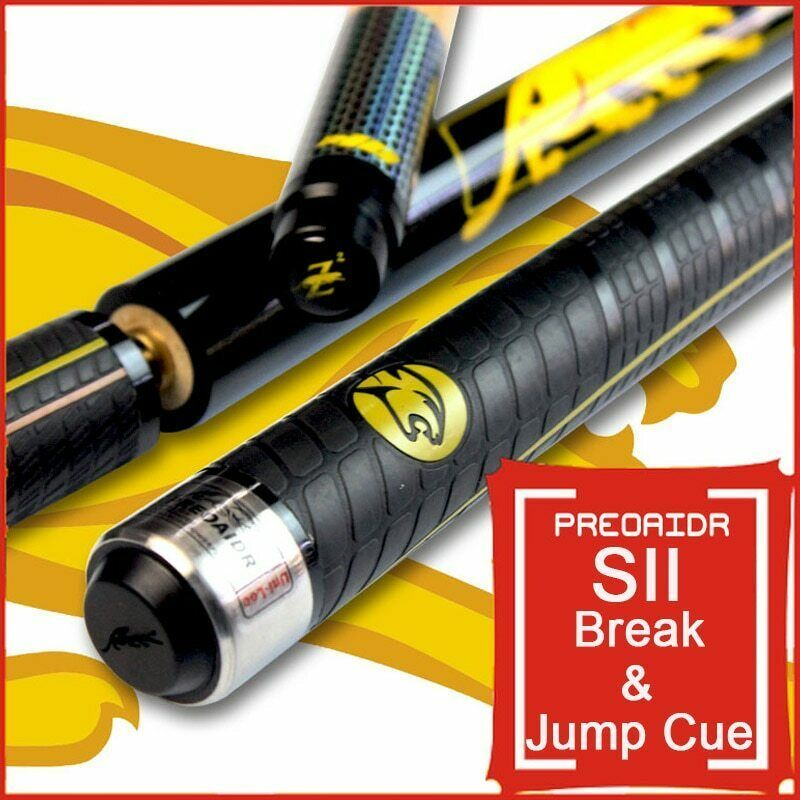 Brand S2 Break Cue Pool Punch Jump Cue 13mm Tip Billiard Stick Jump Cues Sport