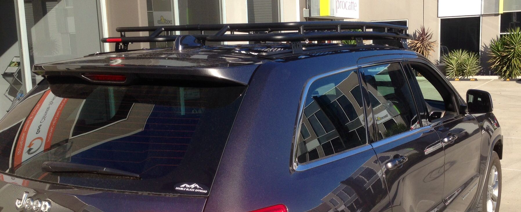 GOBI Jeep Grand Cherokee 2014 Stealth Roof Rack Jeep