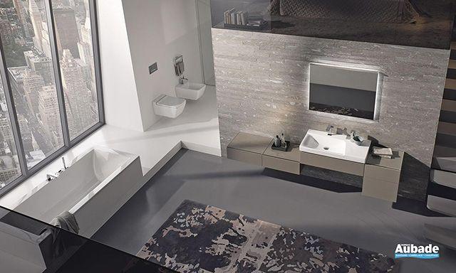 Collection meuble salle de bain Xeno2 d\u0027Alia Espace Aubade Salle