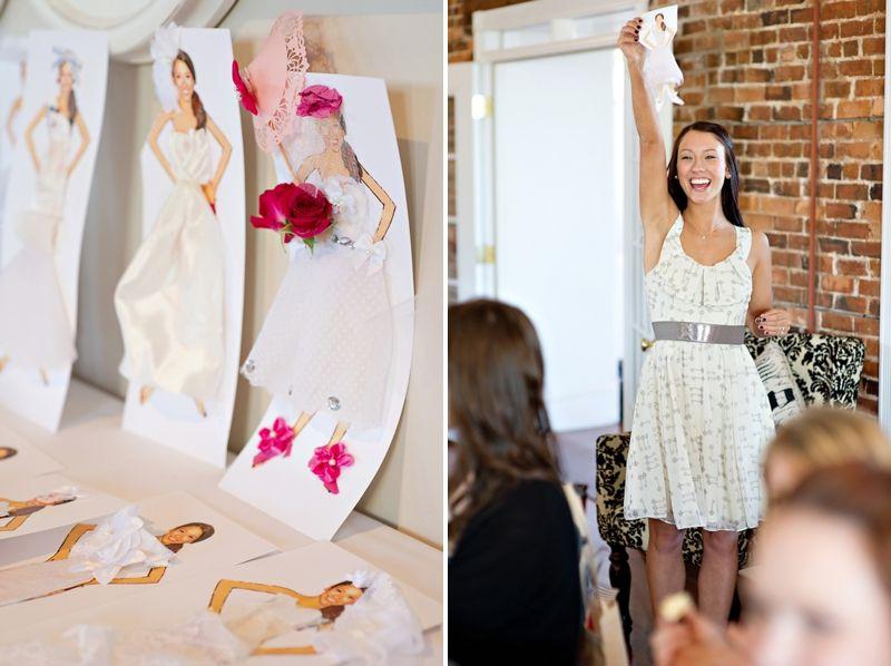 Bride Paper Doll Decorating Game Nautical Theme Bridal Shower Fun Bridal Shower Games Tiffany Themed Bridal Shower