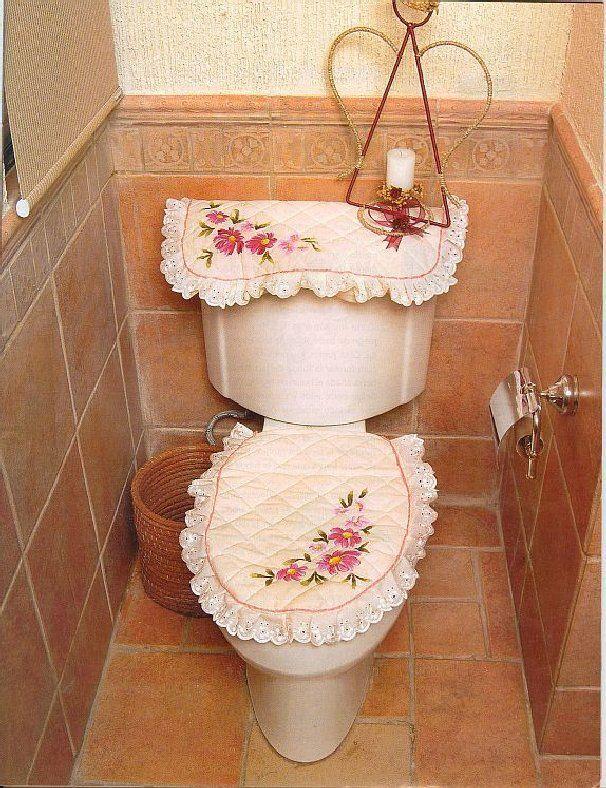 decoracion para baño en tela - Buscar con Google | baños | Pinterest ...