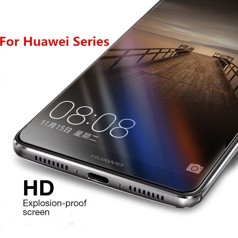 Screen Protector Tempered Glass For Huawei Ascend P8 P9 P7 P6 G8 G7 G6 G630 Nova lite Mini Plus Mate 9 8 7 s Film Guard Case
