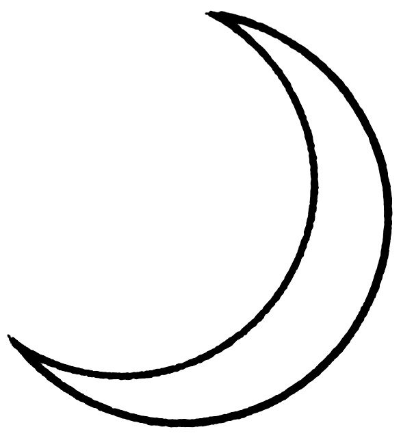 Download Free thin crescent moon | tattoo | Pinterest to ...  Download Free t...
