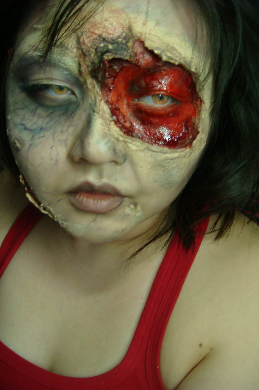 Great zombie makeup.... wow!   Halloween Fun   Pinterest   Zombie ...