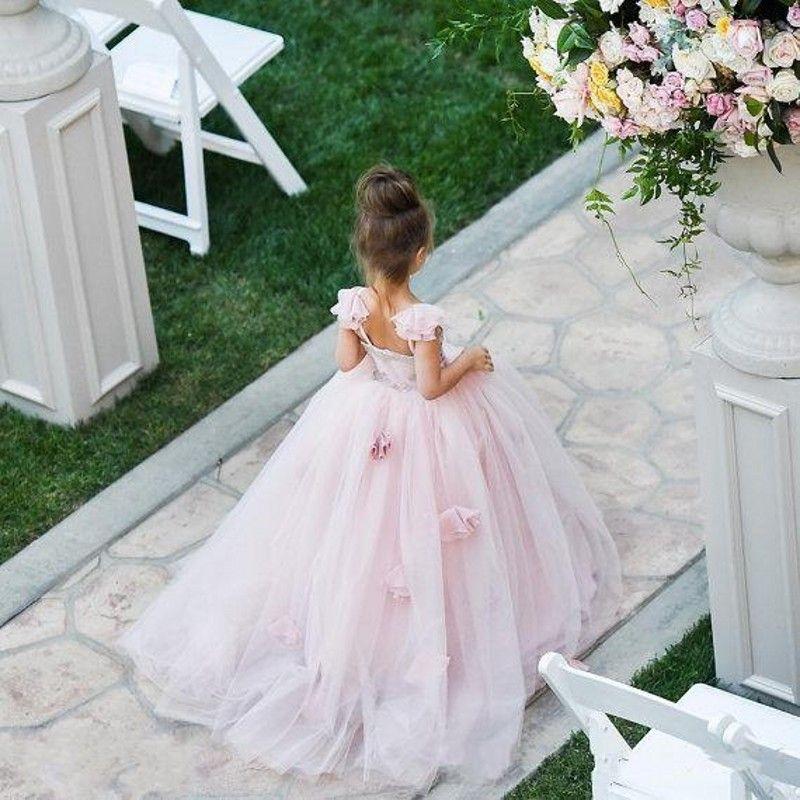 Lil girl dress for wedding cheap
