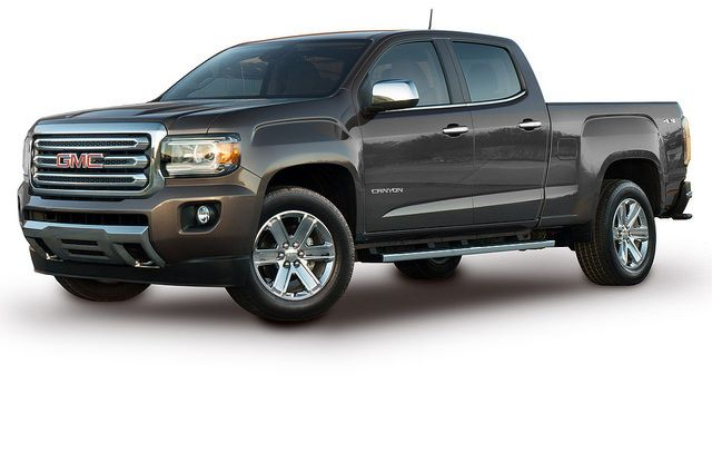 New Midsized Pickups Being Released By General Motors Are Built To Impress Gmc Canyon Gmc Truck Chevy Colorado
