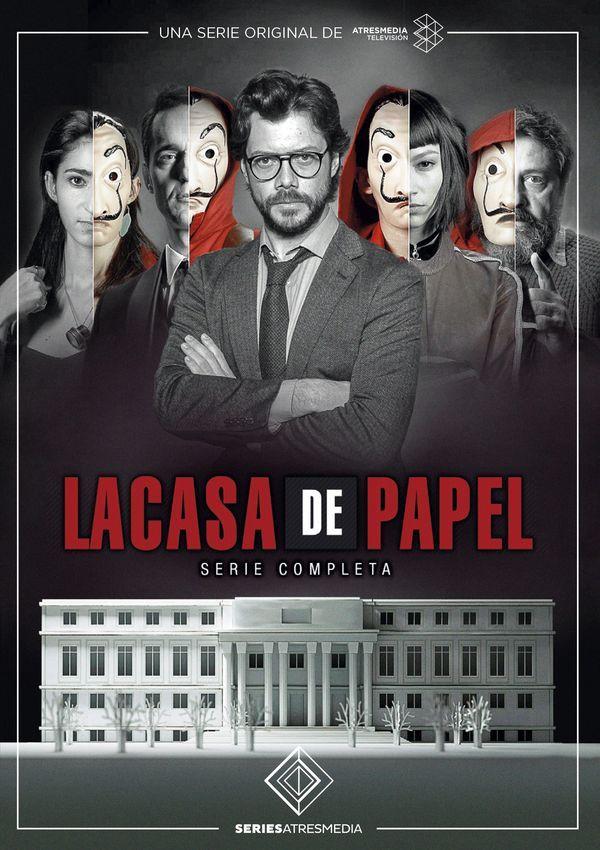 Resultado de imagen para LA CASA DE PAPEL POSTER