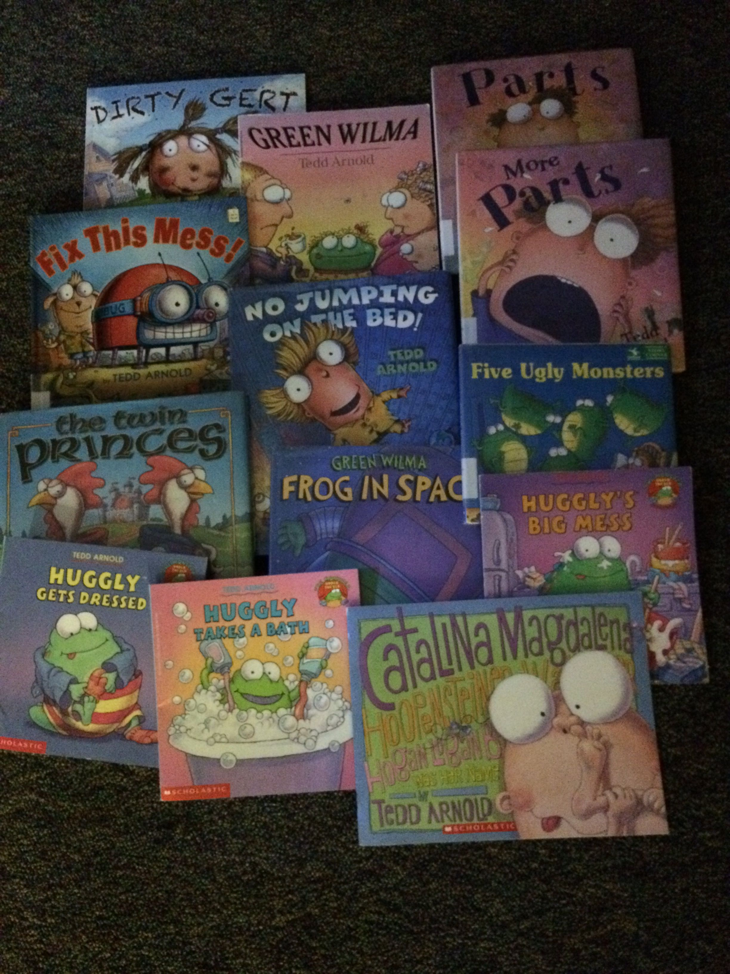 Great Books For A Tedd Arnold Author Study Author Studies Author Mentor Texts