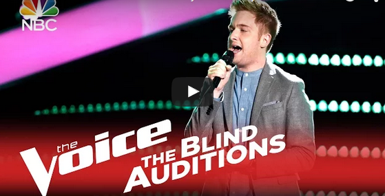 "New Yorker Jeffery Austin took The Voice stage with Sam Smith's ""Lay Me Down"" on Monday, September 2, 2015. See Also: The Voice Season 9 Blind Auditions 9/28/2015 Recap, Videos Austin only managed to get one chair to turn — that of Gwen Stefani."