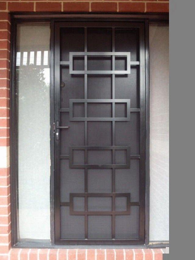 Custom Security Screen Doors Steel Door Design Door Gate Design