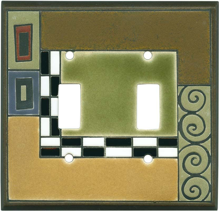 Klimt Ceramic Light Switch Plates, Outlet Covers, Wallplates | Home ...