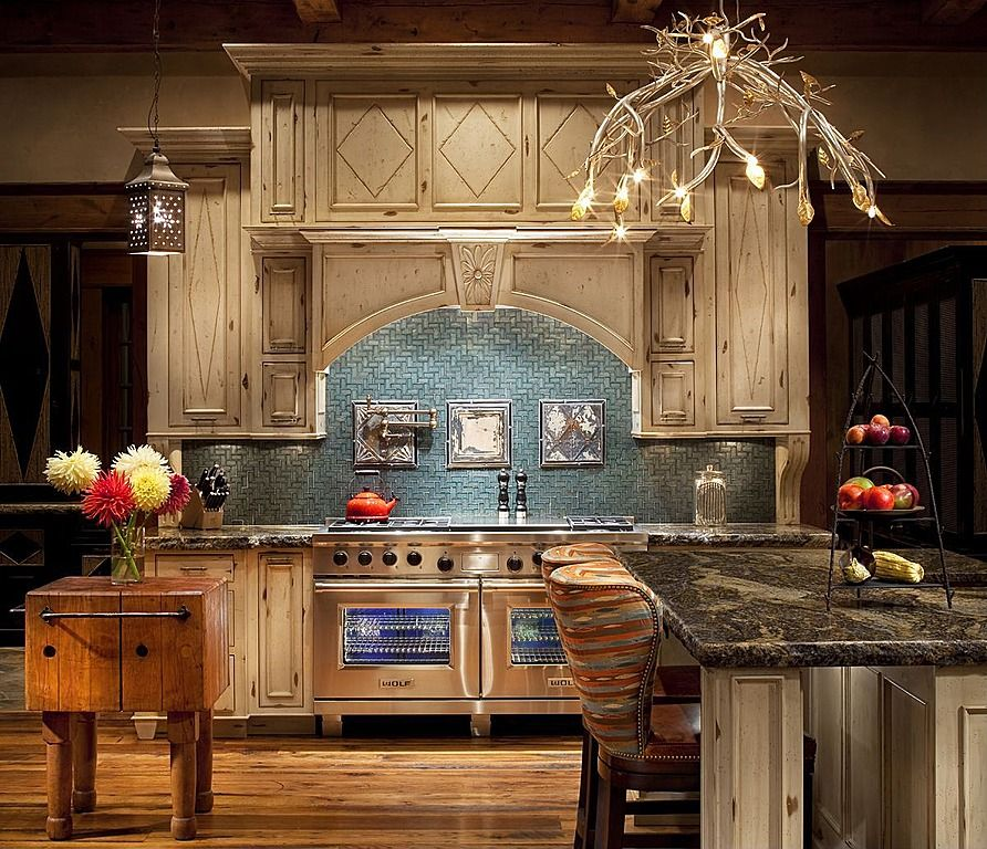 30 Incredible Eclectic Dining Designs: Rustic Kitchen Design, Luxury