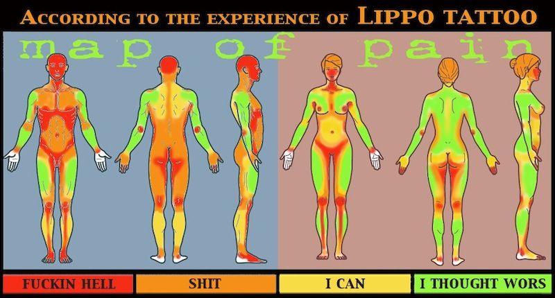 niveau de douleur d'un tatouage - recherche google | tattoo
