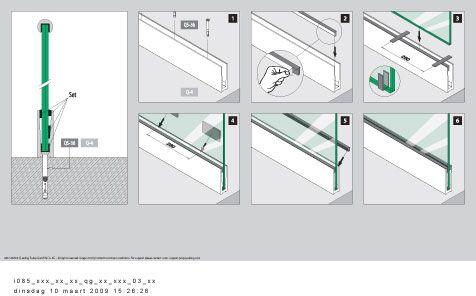 Best Easy Glass Self Install Glass Balustrading By Q Railing 640 x 480