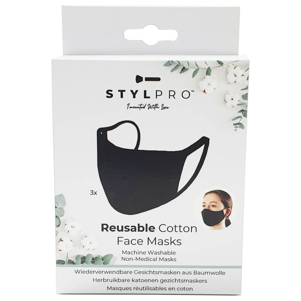 Stylpro Reusable Cotton Face Mask Face Mask Soothing Face Mask Beauty Box Subscriptions