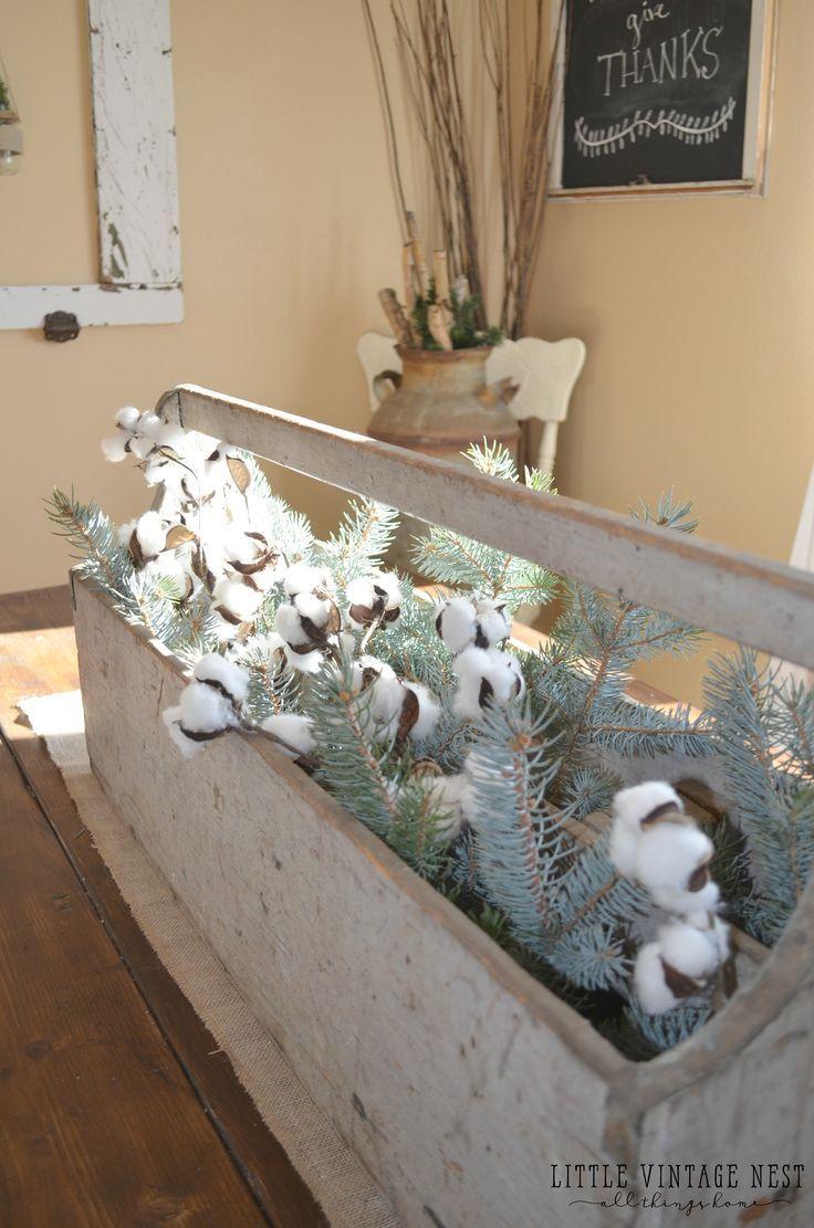 Winter Decor 101 U0026 Blog Hop   Little Vintage Nest