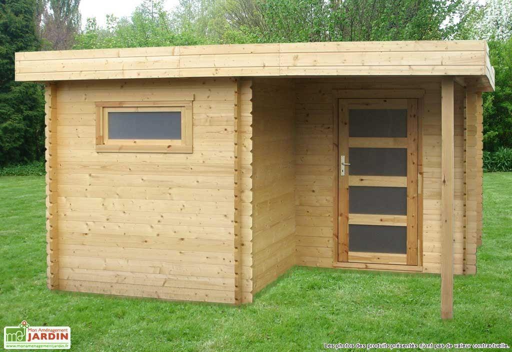 abri de jardin bois plosiel 28 mm toit plat pinterest. Black Bedroom Furniture Sets. Home Design Ideas