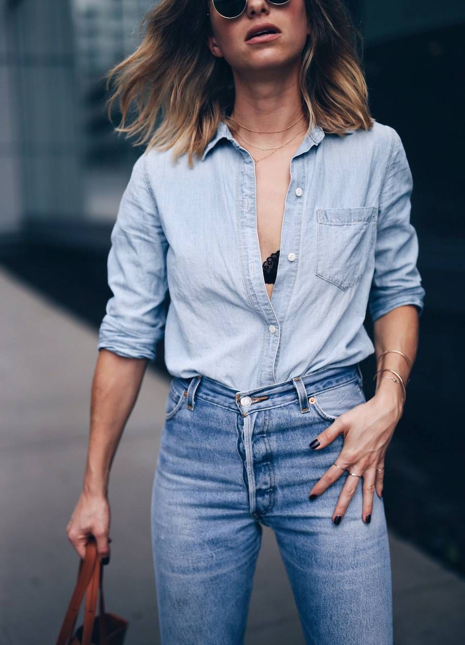 Canadian tuxedo | The August Diaries