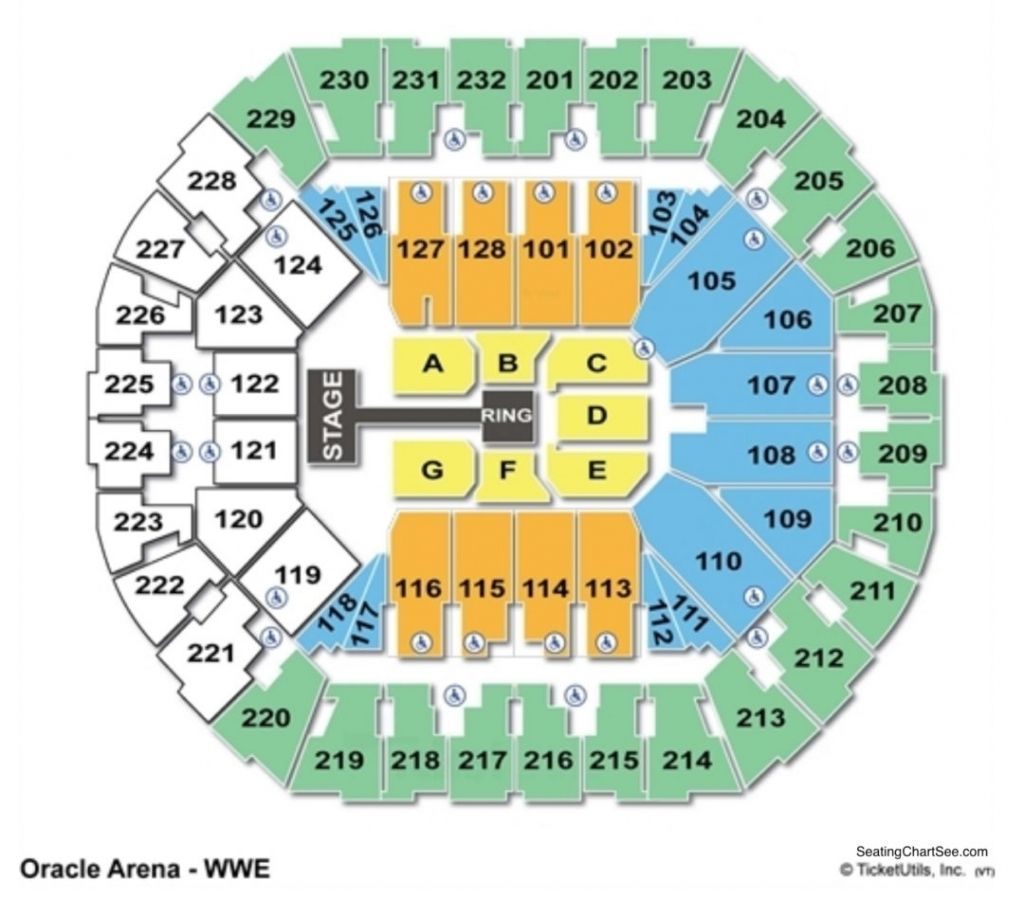 The Most Awesome Oracle Arena Seating Chart Concert In 2020 Philips Arena Seating Charts Seating Plan