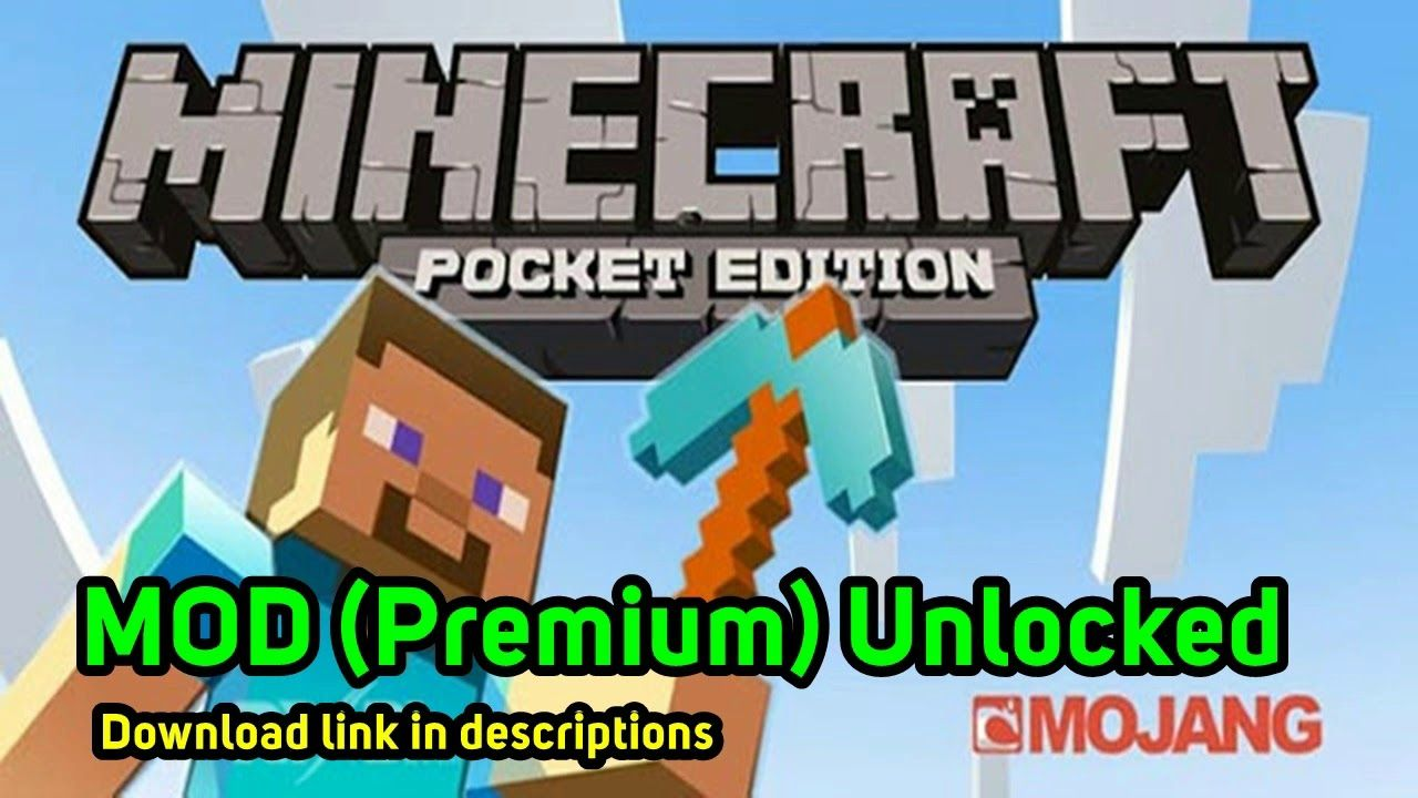 Minecraft Pe 1 13 0 15 Final Apk Mod Premium Unlocked Latest