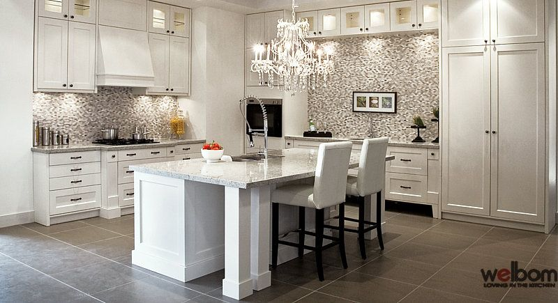 Kitchen Luxury White Luxury Kitchens White Cabinets  Images Of Luxury White Paint .