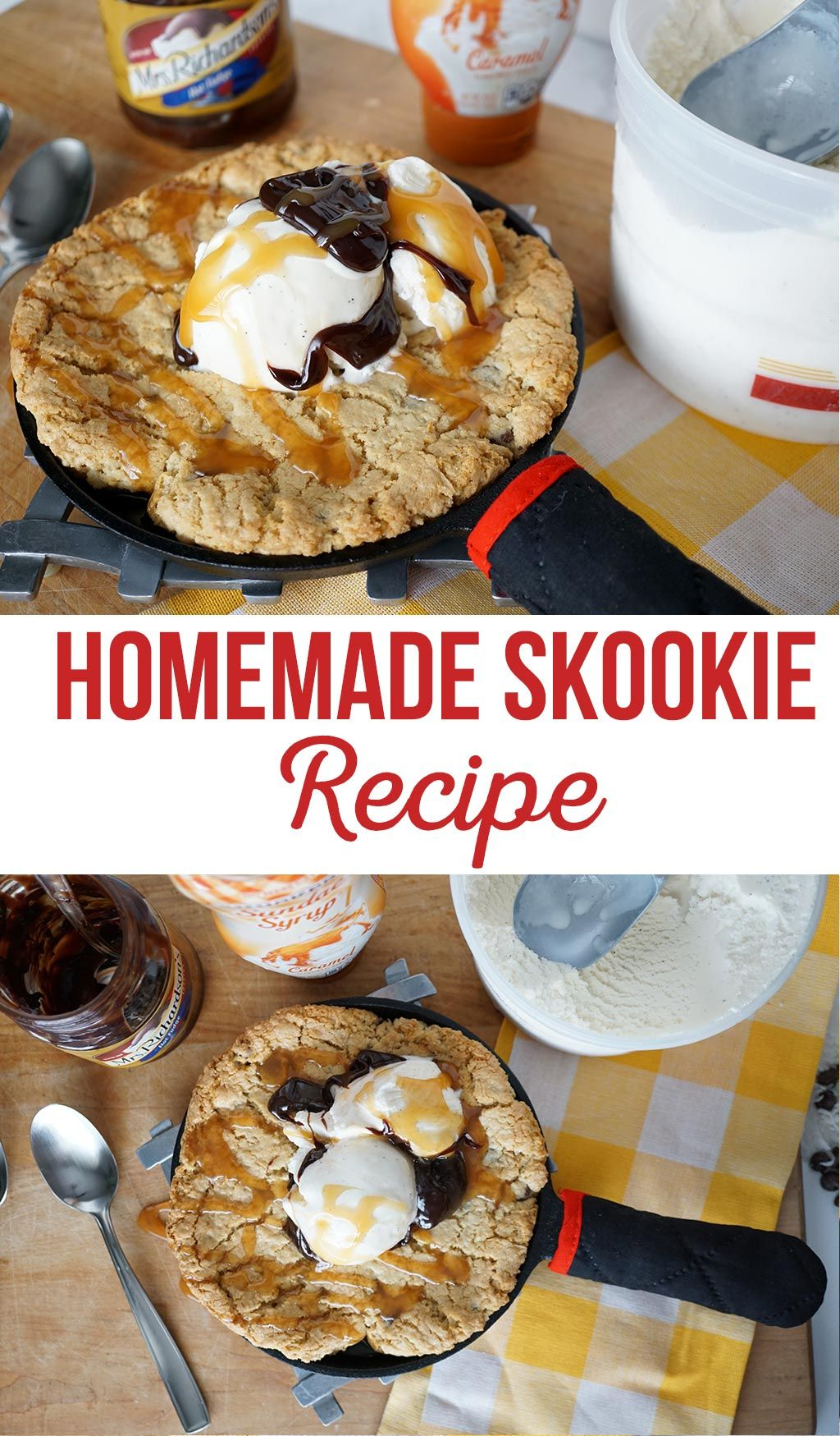 The BEST Homemade Skookie Recipe   Skookies = skillet + cookies   Whatever you want to call this dessert of deliciousness... these are amazing!