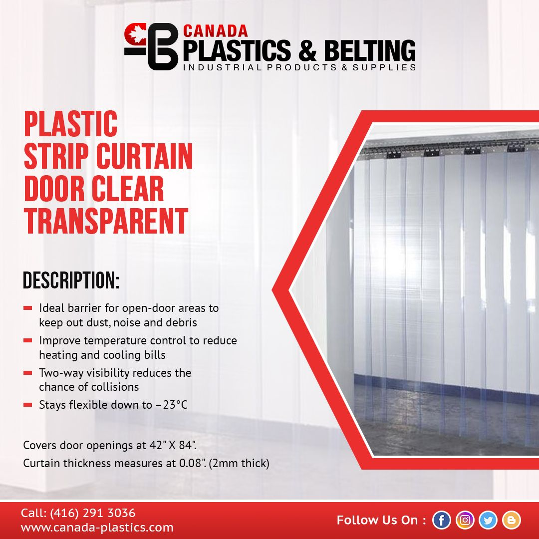 If You Are Looking For A Plastic Strip Curtain It Is Worth