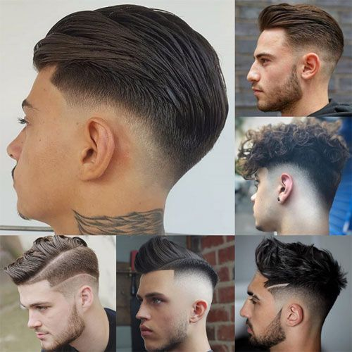 Cool Fade Haircuts For Men Best Mens Fade Haircuts Different