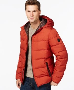 068839ba6 Michael Kors Men's Big & Tall Down Jacket, Created for Macy's ...