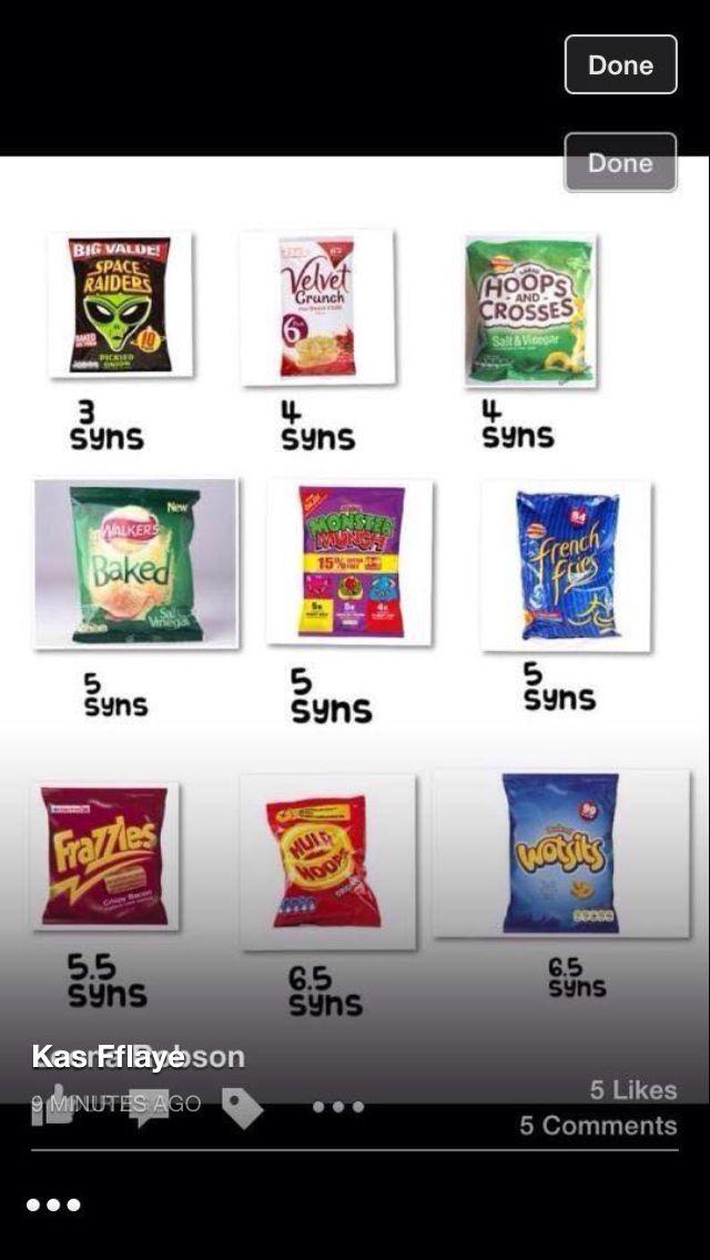 low syn crisps slimming world treats slimming world snacks slimming world low syn crisps slimming world treats