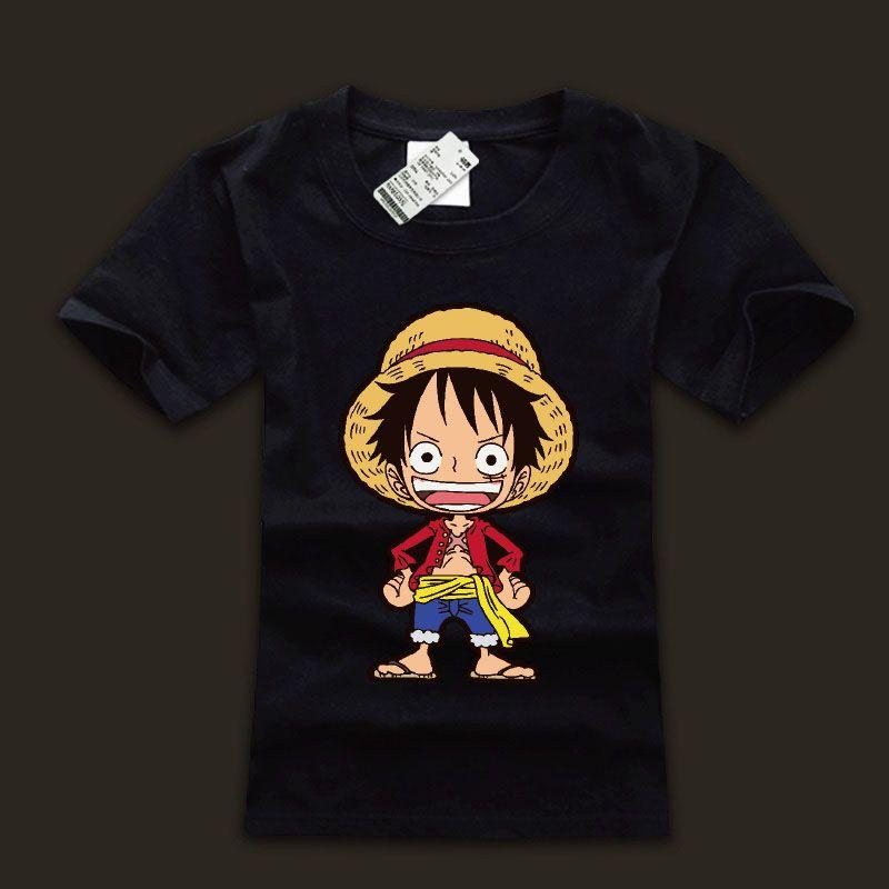 Pirate Art Monkey D Luffy One Piece Mens T-Shirt