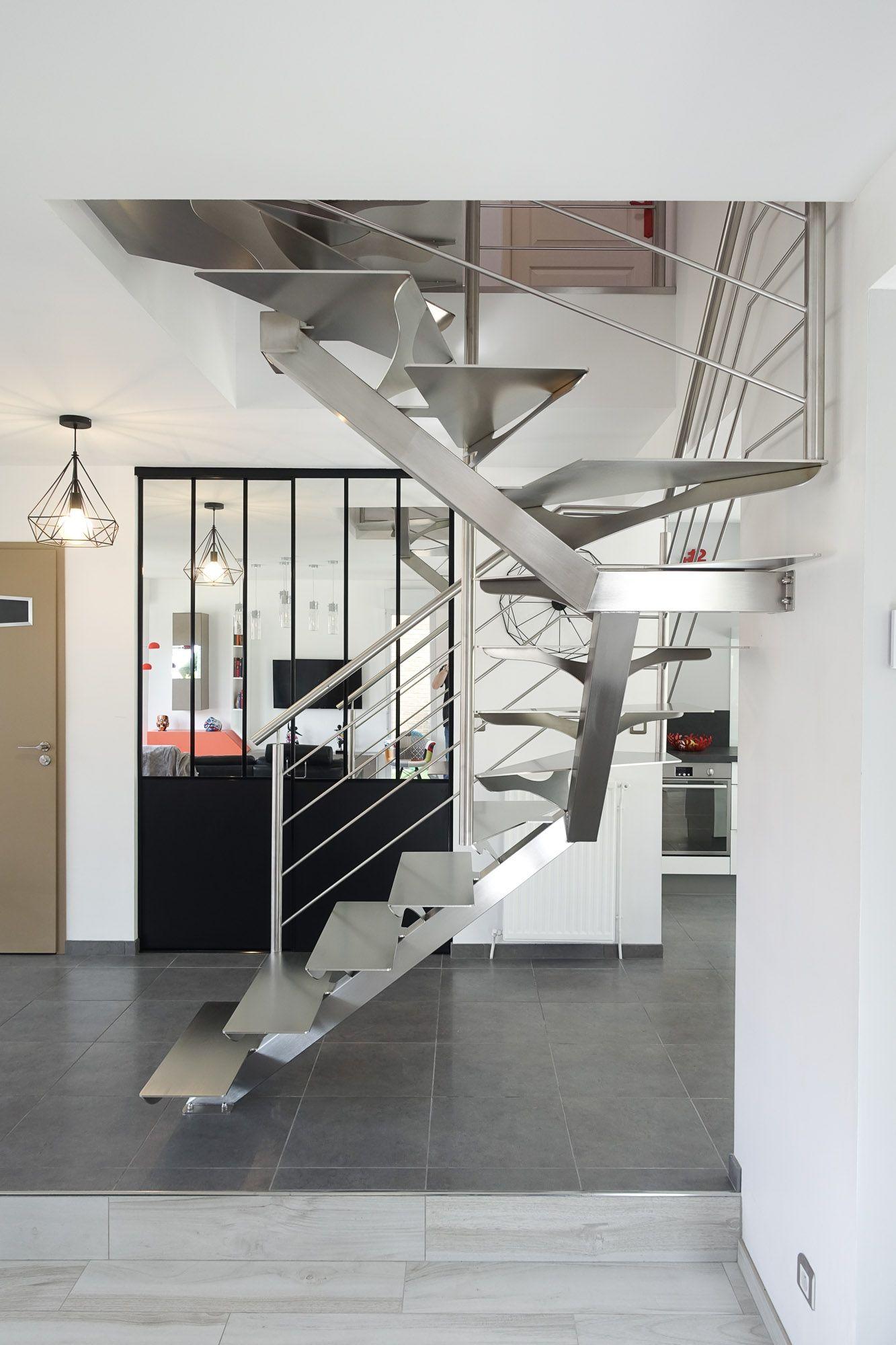 Escalier Inox Design Finistere Morbihan Bretagne En 2020 Design Finistere Morbihan