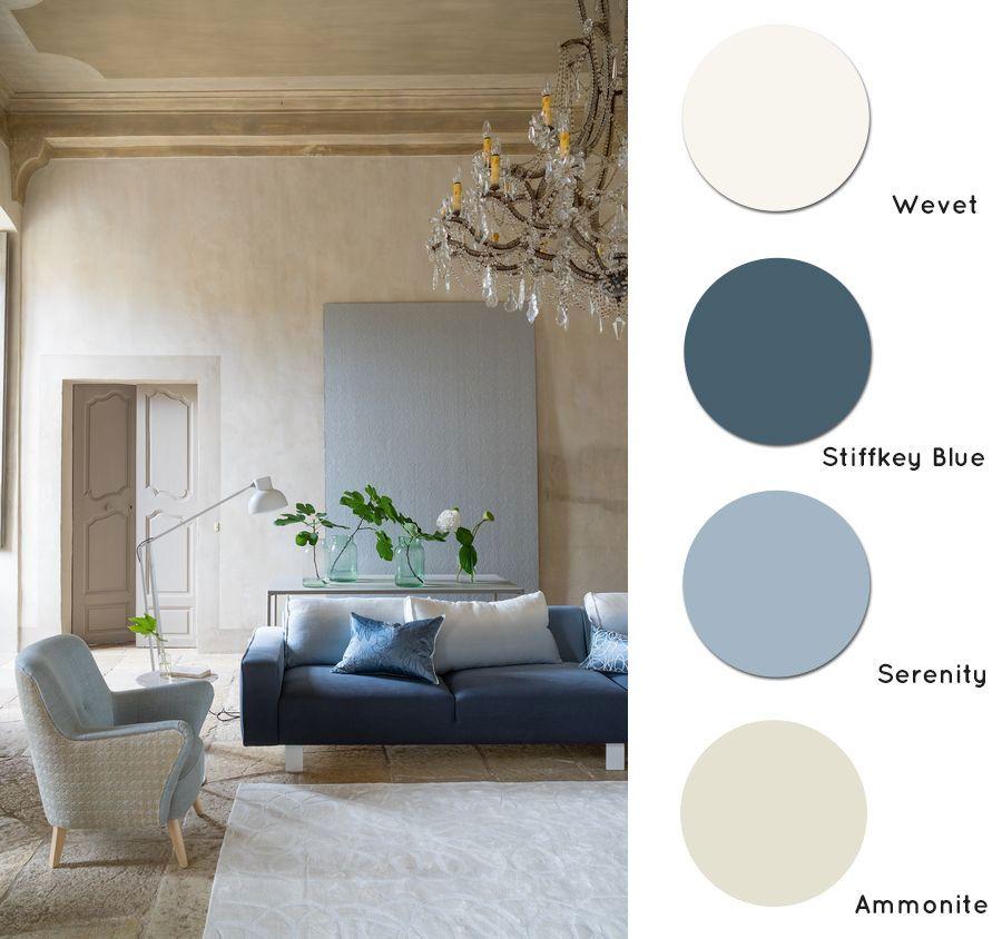 Guida colori per pareti: soggiorno con pareti neutre sui ...