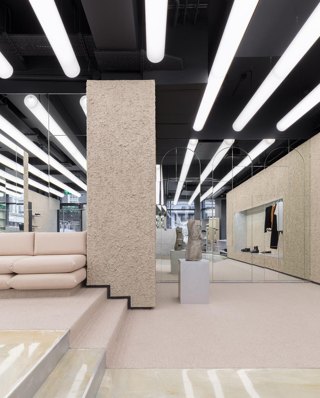 1b8be029d5 Eytys London Soho Flagship Store Look Inside First Look Swedish  Architecture Design Issey Miyake Brutalism Postmodernism Influence Max  Schiller Jonathan ...