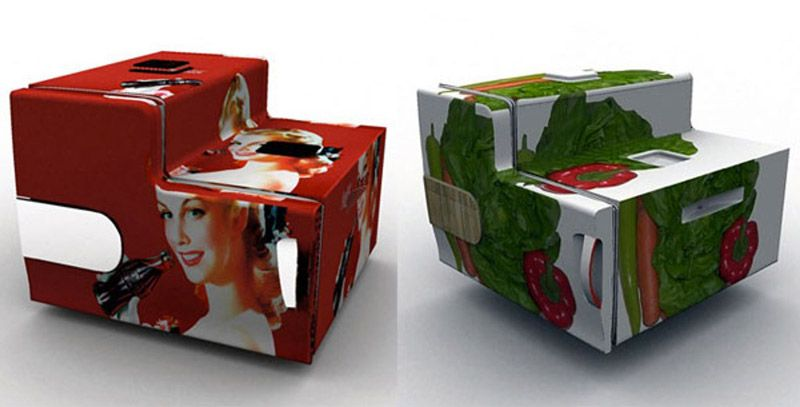 Stackable Flatshare Fridge - great if you have roommates!