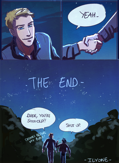 """""""That's it guys, the conclusion of the """"Jason finds out"""" mini-arc. ^___^  Links to part 1,2 and 3, as well as the Chronology of a friendship masterpost.   This particular dialogue completely wrote..."""" - ilyone.tumblr Part 4 of a Chronology of a Friendship Nico di Angelo Jason Grace"""