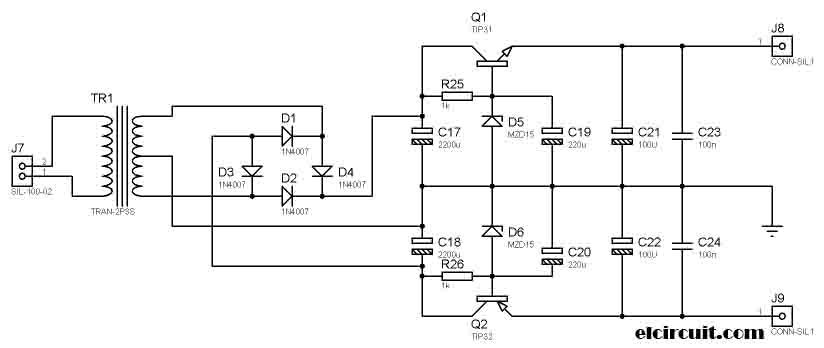 Stereo Tone Control Circuit uses TL084/ TL074 in 2019 | Mixer