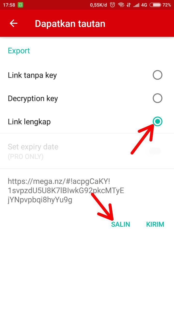Cara Membuat Link Download File Di Aplikasi Mega Android Androbuntu Aplikasi Android