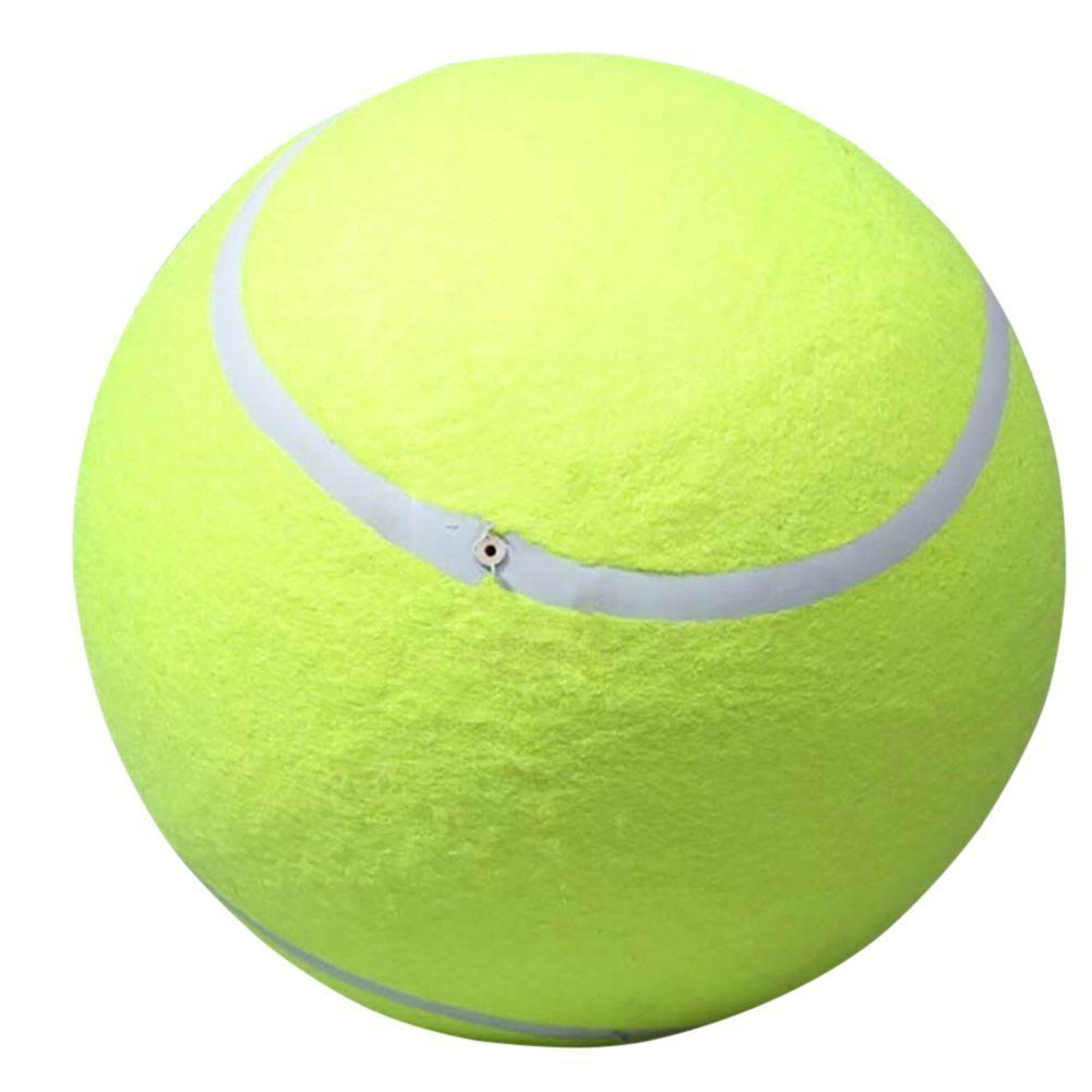 Banfeng Giant 9 5 Dog Tennis Ball Large Pet Toys Funny Outdoor Sports Dog Ball You Can Find More Details By Vis Tennis Ball Dog Ball Sporting Dogs