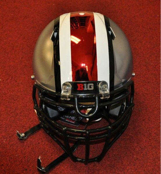finest selection 37bd7 e0afd Ohio State chrome helmet