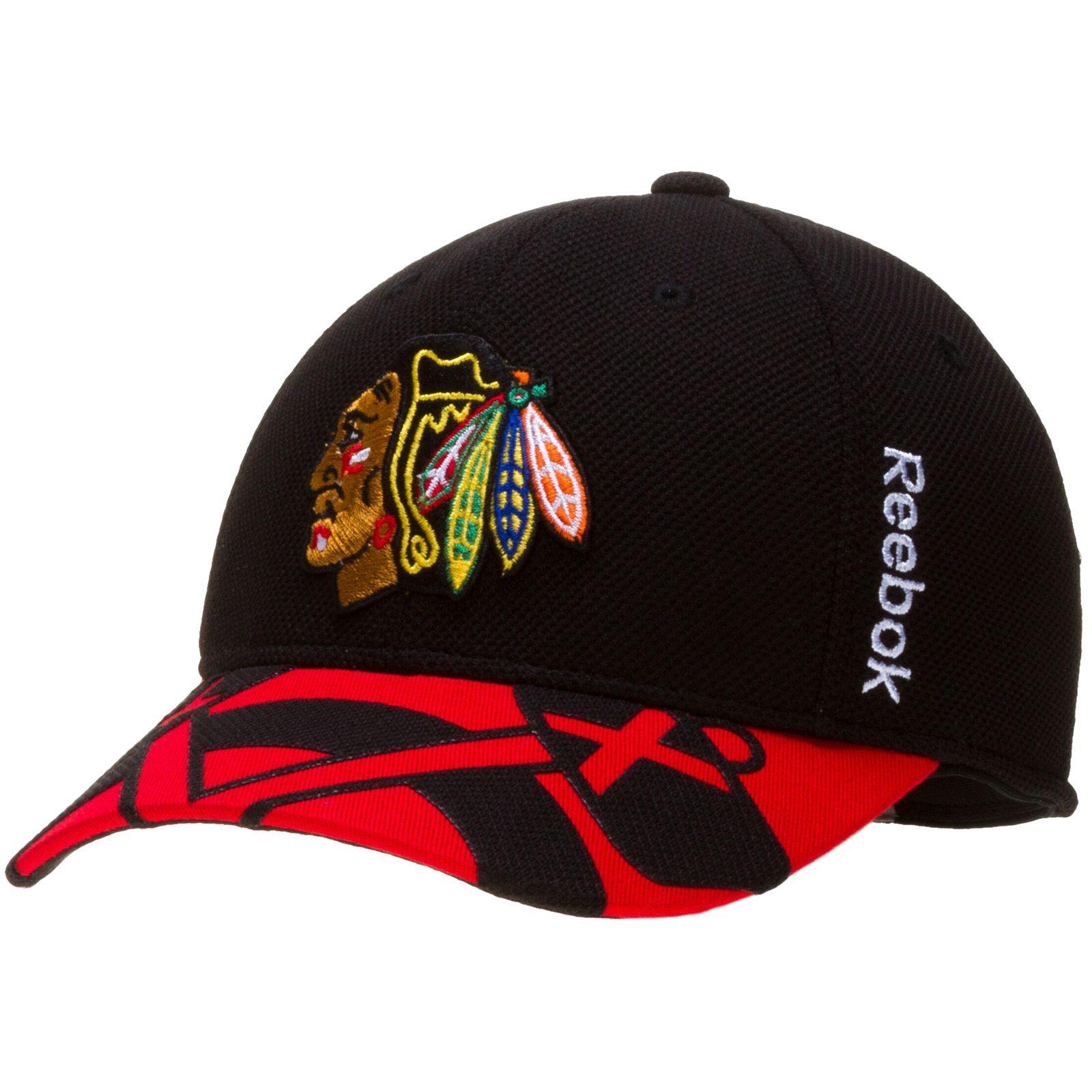 Chicago blackhawks youth 2015 draft flex fit hat by reebok