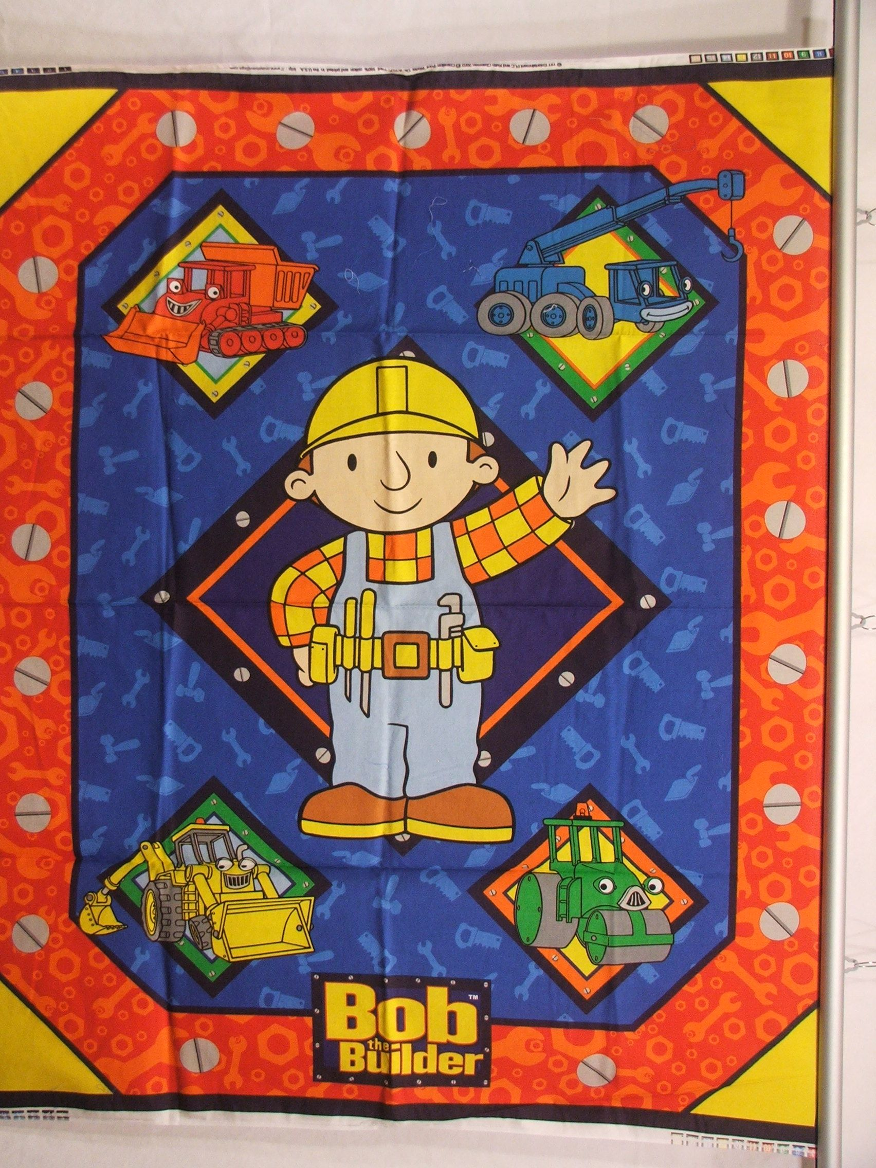 Check out bob the builder fabric panels and so much more