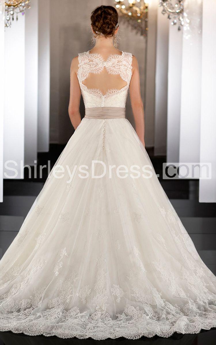 Vintage A-line Lace Wedding Dress With Detachable Jacket 248.69