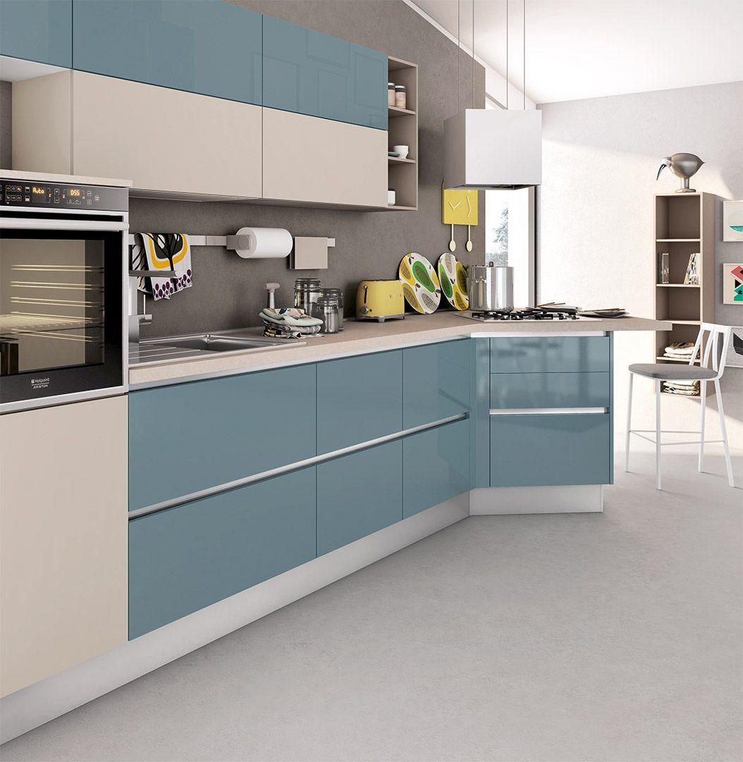 Cucina Kyra Cucine Moderne Creo Kitchens Modello di