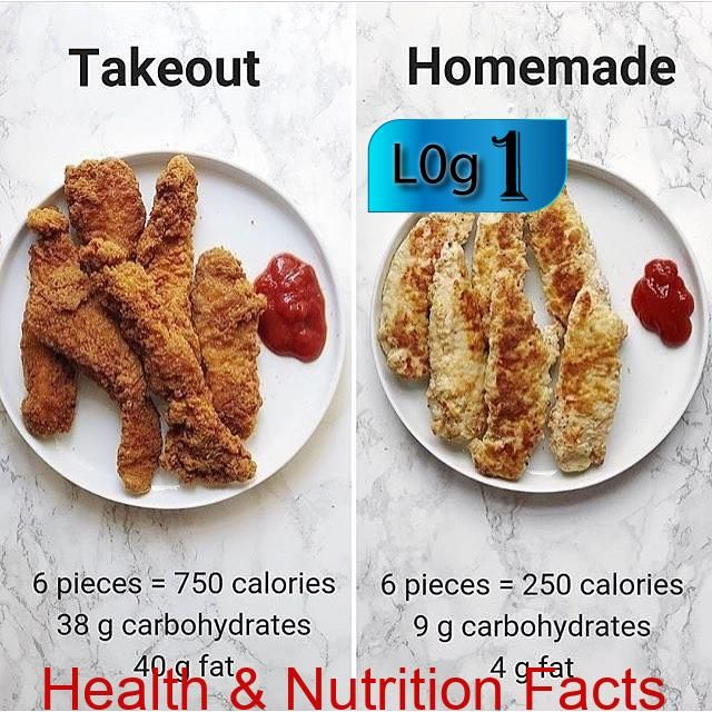 When you get chicken tenders as take out or fast food, sometimes the calories an... When you get chicken tenders as take out or fast food, sometimes the calories an...