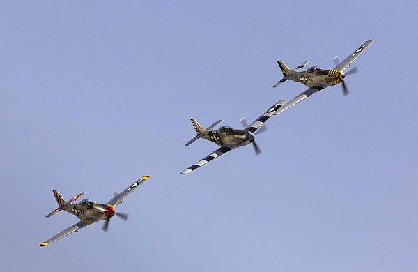 Bremont P-51 Formation Photograph