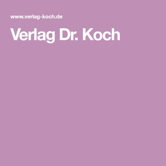 Verlag Dr Koch Kochen Ausbildung